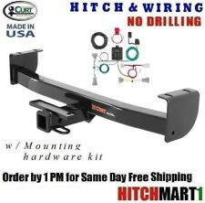 "CLASS 3 CURT TRAILER HITCH & WIRING FOR 2016-2017 TOYOTA TACOMA PICKUP 2"" 13264"