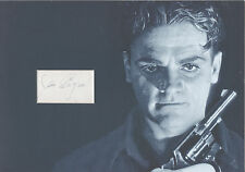 JAMES CAGNEY Signed 12X8 Photo Display ANGELS WIH DIRTY FACES COA