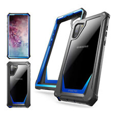 Galaxy Note 10 Case,Poetic [Guardian] Support Wireless Charging Cover Blue