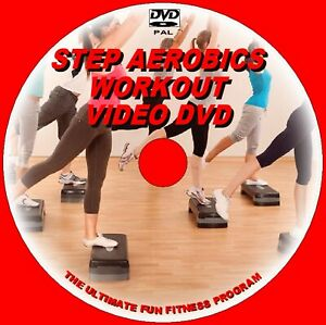 STEP AEROBICS DAILY HIGH ENERGY  HEALTHY CARDIO FITNESS EXERCISE WORKOUT DVD DVD