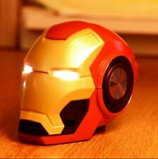 Wireless Bluetooth Speakers Iron Man Portable Mini Hifi 360 Stereo Subwoofer