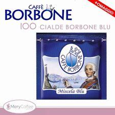 100 Cialde ESE 44 mm Caffè Borbone miscela BLU+omaggio+..