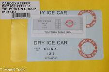 Tichy Train Group O #10134O Cardox Reefer Dry Ice Reefer (O Scale)