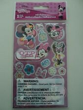 DISNEY MINNIE MOUSE 3D STICKERS BY SANDY LION BNIP *LOOK*