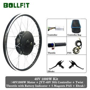 OUKANING Kit de conversion pour v/élo /électrique 28 36 V//48 V 250 W//1000 W