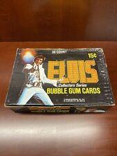 1978 Donruss Elvis Presley Rock N Roll Trading Cards 36 Wax Pack Box 🎸