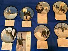 Princeton Galleries Wolf Plate Series
