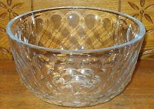 "Brierley Crystal Bowl - 9 7/8"" Diameter - 5 1/2"" High - Kent Pattern"