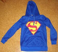 Superman Sweat Hoodie Kapuze Pullover Sweatshirt Pulli Jacke Langarm Gr. M - Neu