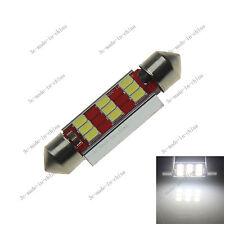 1X White 41MM 9 LED 3528 Festoon Dome Light Bulb Non-polar 211 212 12-24V 20120