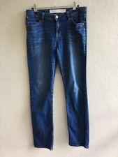 Next Women's Jeans Size 10L Slim Fit Blue Cotton Polyester Elastane