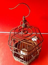 More details for vintage chinese bird  cage