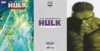 IMMORTAL HULK #37 2020 Alex Ross Main Cover + Timeless Variant  NM 9/16 PreSell
