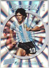 DIEGO MARADONA 2018 Panini National Silver Pack Legend Spokes #/49 Argentina