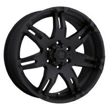 "Set of 2 Ultra Wheel 238B Gauntlet Black Wheel (20x9""/6x5.5mm, +18 mm offset)"