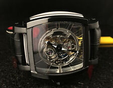 NEW Invicta Reserve 48mm Sapphire Ghost Swiss Automatic Leather Strap 22835