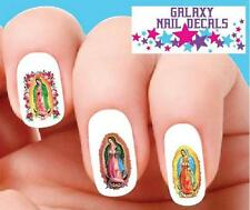 Waterslide Nail Decals Set of 20 The Virgin Mary Our Lady of Guadalupe Assorted