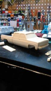 76 crewcab longbed resin kit