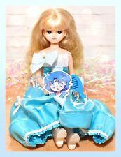 ��Takara Licca-chan Rika-chan Sauvage Hair Aqua Marine Princess Dress Japan��