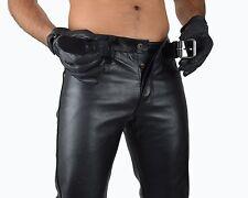 Aw-701, awanstar Motard Pantalon Cuir leather pants, Cuir Moto Pantalon, cuir jeans 38 W