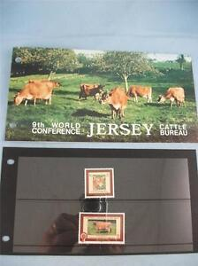 9th World Conference Cattle Bureau Jersey Stamp presentation pack issue 1/3/1979