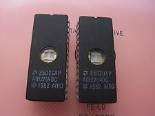 AM2764DC UV-EPROM  UV Erasable and Programmable 8Kx8bit EPROM 2pcs AMD