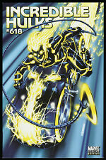 Incredible Hulks 618 Tron Variant Comic Mark Brooks Tron Legacy Movie Video Game