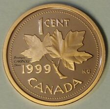 1999 Canada Proof 1 Cent