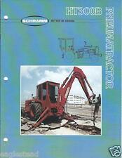 Equipment Brochure - Schramm - HT300B Pneuma-Tractor Air Compressor c1984 (E2617