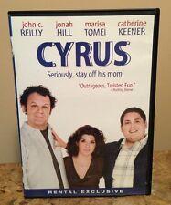 Cyrus (DVD, 2010) John C Reilly Jonah Hill Marisa Tomei WIDESCREEN