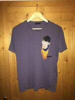 original Prada Shirt XL abstrakt Kunst T-Shirt L Art Milano