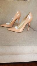 NIB Jimmy Choo Pink Patent Leather Anouk Pumps Size 10 / 40 Auth - $650