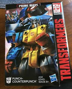Transformers: Prime Wars - Punch-Counterpunch Power of the Primes w/ Prima Prime