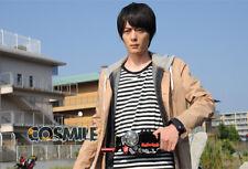 Kamen Rider Build Sento Kiryu Cosplay Casual Thin Wind Coat Overcoat Custom-made