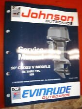 1992 JOHNSON/EVINRUDE  EN 85 THRU 115 155 90 CV OUTBOARDS FACTORY SERVICE MANUAL
