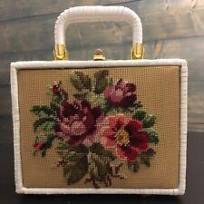 Marchioness Floral Top Handle Bag