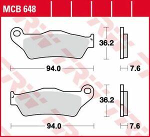 TRW Lucas Bremsbeläge MCB648 vorne - MBK XQ 125 Thunder , XQ 150 Thunder