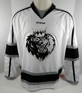 Manchester Monarchs Blank Authentic Replica White Jersey XL