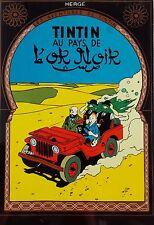 Vietnam Art Lacquer TINTIN - Land of Black Gold - Tintin au pays de l'or noir