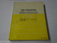 Workshop Manual Toyota Lite Ace / Town Ace, Body/Chassis, Piece 01/1992