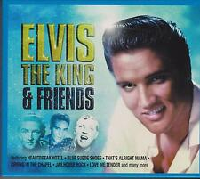 ELVIS THE KING & FRIENDS - VARIOUS ARTISTS on 2 CD's