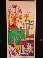 DEGGELLER  Magic Midway Carnival Poster 1950's