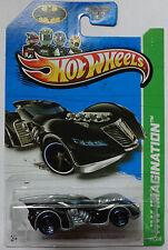 2013 Hot Wheels HW IMAGINATION Batman Arkham Asylum Batmobile Col. #63