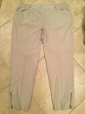 Zenergy By Chicos Polyester spandex oatmeal Pants Size 3 (XL) NWOT
