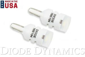 Diode Dynamics 194 HP3 LED Lights Bulbs - Cool White 6000K - Made in USA