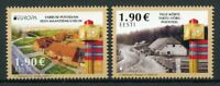 Estonia Europa Stamps 2020 MNH Ancient Postal Routes Services Buildings 2v Set