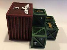 Crates Terrain 84x66x51mm 40k Terrain Scenery Tabletop Miniatures Wargame