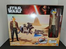 Star Wars The Force Awakens Speeder Bike with Poe Dameron 12-Inch Figure
