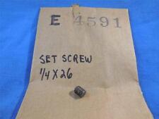 Norton E4591 NOS Set Screw 1/4 X 26  N515