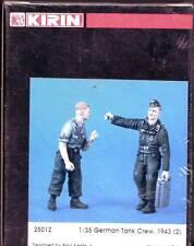 KIRIN 1/35 -GERMAN TANK CREW 1943